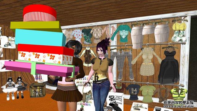 《热门网页游戏私服》游戏截图 基于因特网的虚拟世界