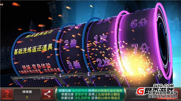 非R玩家的福音《火爆的网页游戏》中的幸运玩法