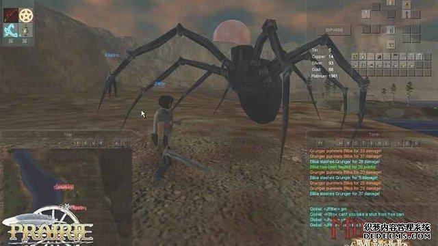 《热门网页游戏公益服》游戏截图 建立自己的游戏世界