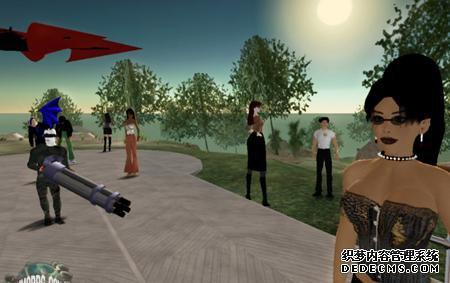 基于虚拟现实的虚拟世界游戏要来了 注册居民吧