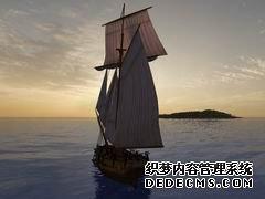 图:海盗题材页游私服网游《燃烧之海的海盗》
