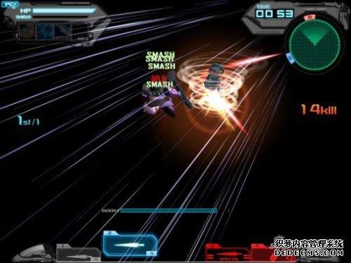 """""""炽天使敢达II""""变型后可施展""""格斗Combo""""能在短时间内输出最大攻击火力"""