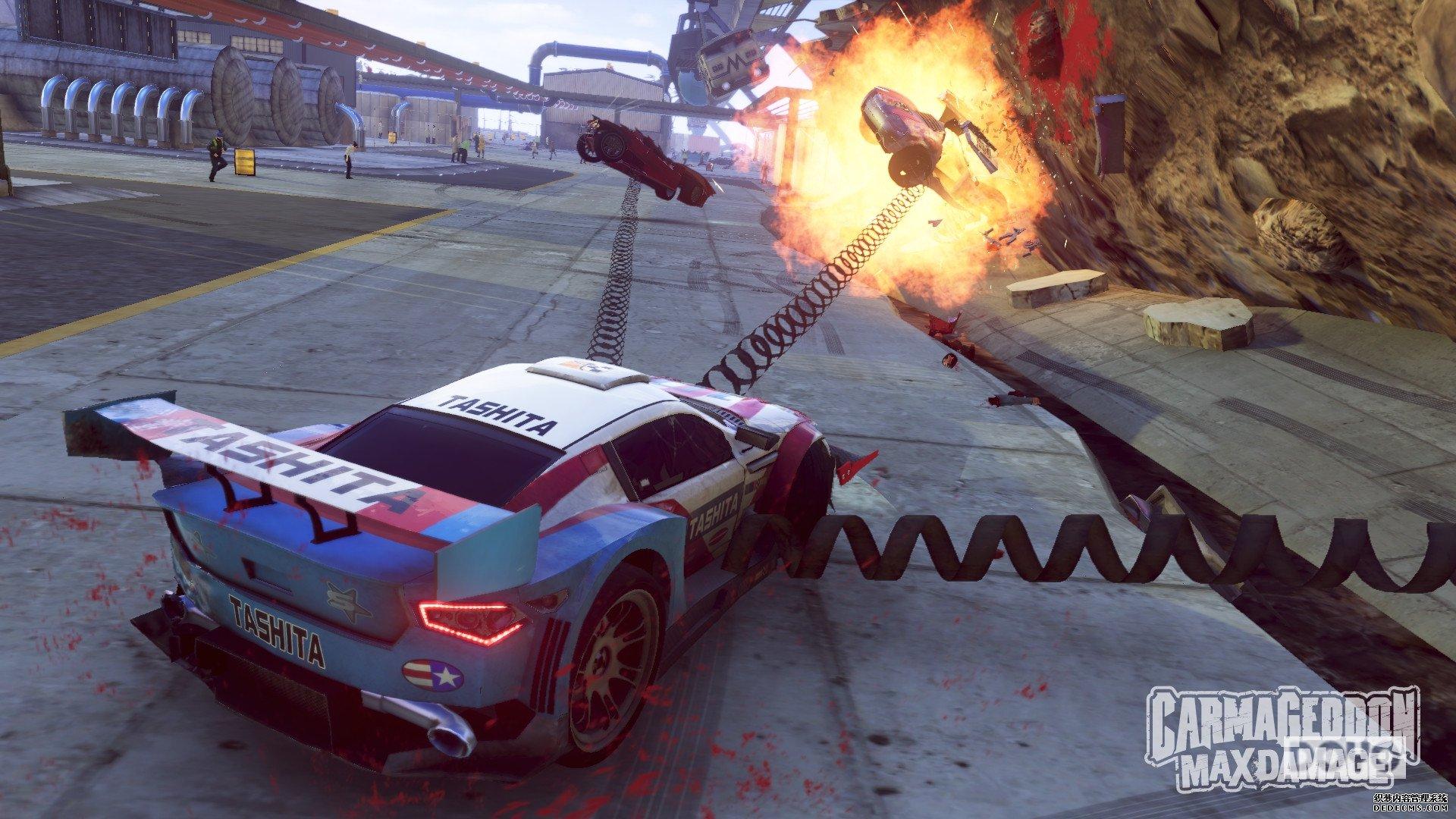 《死亡赛车:终极魔域页游破坏》确认发售日 相约大破坏