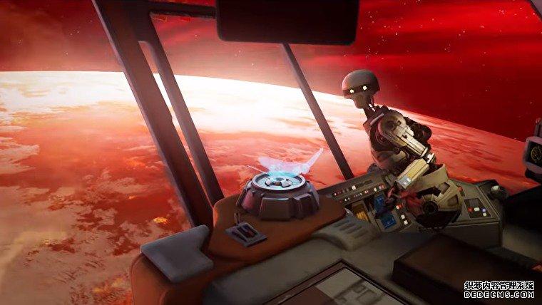 维达不朽星球大战VR系列今年带来了远离Oculus的星系