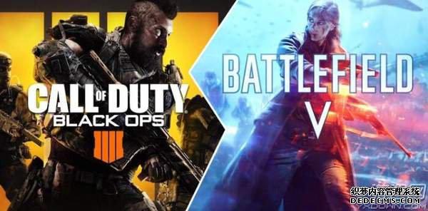 《战地5》和《使命召唤15》游戏容量曝光 分别于10月11月发售