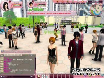 模拟人生网游传奇网页游戏人气爆棚人生OL强势开测