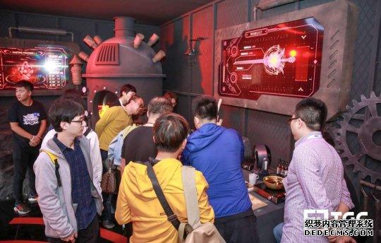 《超bt网页游戏》阿拉耐玩的页游德市集再升级 TGC海南站首日人气十足